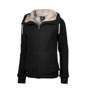 Ladies furry Hoody (zip up), different colors