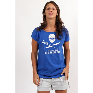 Ladies SEA SHEPHERD Shirt SKULL