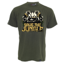 THTC Mens Tee, Save the Jungle remixed,