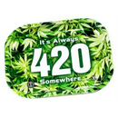 "Rolling Tray Metall ""420"" S ca. 18x14x1cm"