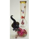 DuoGlass Percolator-Bong Witch, H 40cm, NS 18,8 Male