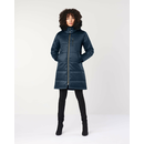Ladies Nordic Puffer Parka, Hemp Hoodlamb, different colors